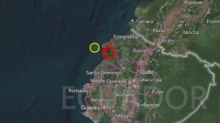 Ισχυρός σεισμός μεγέθους 6,7R στο Εκουαδόρ