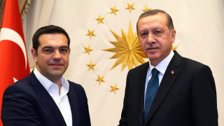 Συνάντηση του A. Τσίπρα με  Ερντογάν στην Κωνσταντινούπολη