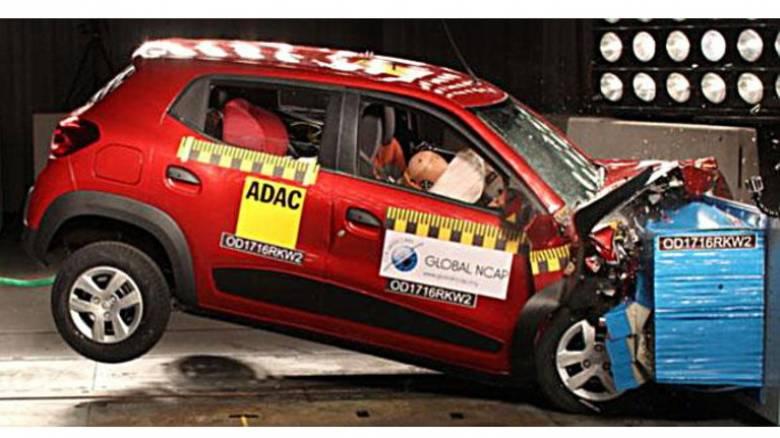 Στα crash tests του Global NCAP 5 ινδικά μοντέλα πάτωσαν στην κυριολεξία