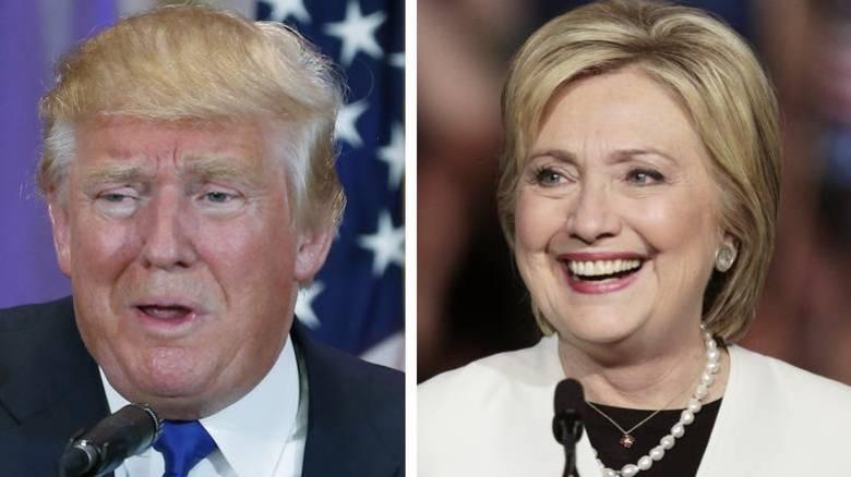 Η περιουσία του Ντόναλντ Τραμπ και της Χίλαρι Κλίντον