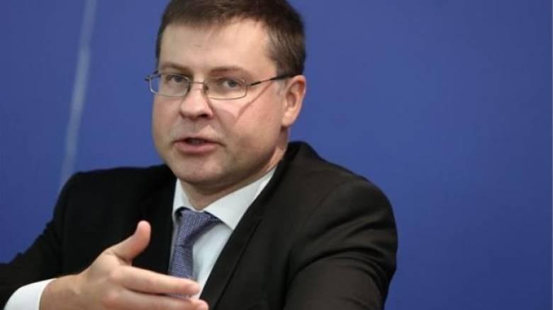 Ντομπρόβσκις: ΕΕ και ΔΝΤ έχουν διαφορετικές εκτιμήσεις για την Ελλάδα