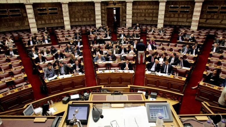 Ζωντανά η ψηφοφορία για το πολυνομοσχέδιο στη Βουλή