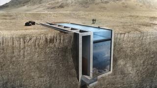 Oι Έλληνες οραματιστές αρχιτέκτονες θα χτίσουν τελικά το σπίτι τους στο βράχο