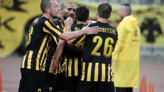 Νίκη της ΑΕΚ 1-0 τον Πανιώνιο και πρωτιά στα play off