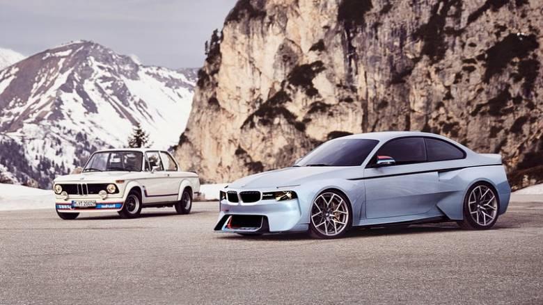 Η BMW 2002 Hommage είναι η σύγχρονη μετενσάρκωση της ιστορικής 2002 turbo
