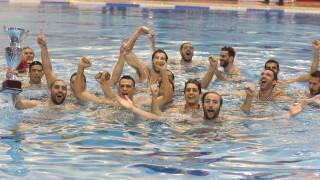 Ο Ολυμπιακός νίκησε για 3η φορά το ΝΟΒ και κατέκτησε αήττητος το πρωτάθλημα πόλο ανδρών