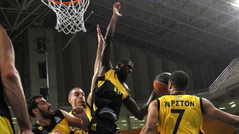 Ο 2ος αγώνας ΑΕΚ-Άρη για τα play off του μπάσκετ ολοκληρώθηκε με 5 παίκτες λόγω σύρραξης