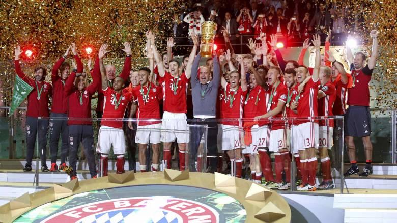 Μπάγερν, Παρί Σεν Ζερμέν και Γιουβέντους μετά το πρωτάθλημα κατέκτησαν και το Κύπελλο
