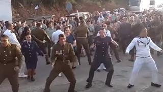 Μαορί χόρεψαν Χάκα στα Χανιά για τη Μάχη της Κρήτης (vid)