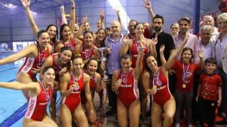 Ο Ολυμπιακός κέρδισε 13-11 την Βουλιαγμένη και κατέκτησε το πρωτάθλημα πόλο στις γυναίκες
