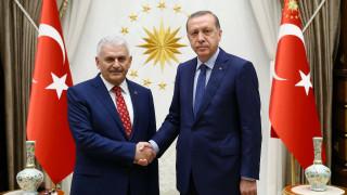 Ο Ερντογάν έδωσε εντολή σχηματισμού κυβέρνησης στον Γιλντιρίμ
