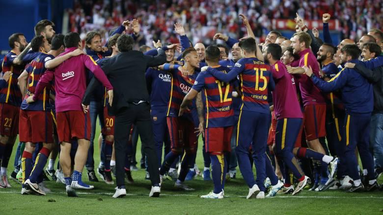 Μετά το πρωτάθλημα η Μπαρτσελόνα κατέκτησε και το Κύπελλο Ισπανίας νικώντας 2-0 την Σεβίλλη.