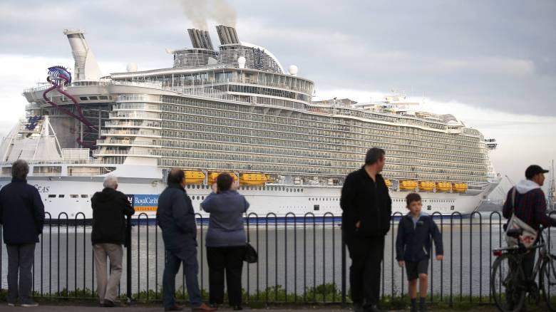 Harmony of the Seas: Το μεγαλύτερο κρουαζιερόπλοιο του κόσμου ξεκίνησε το παρθενικό του ταξίδι