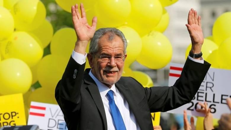 Ο Φαν ντερ Μπέλεν νικητής των αυστριακών προεδρικών εκλογών