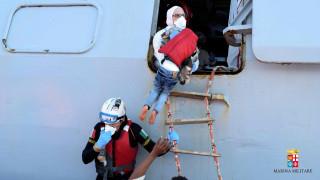 Διάσωση 2.000 μεταναστών σε 15 επιχειρήσεις της ιταλικής ακτοφυλακής
