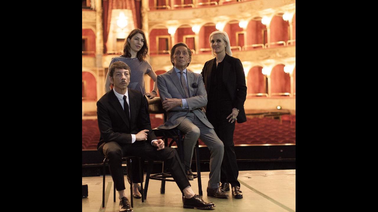Pierpaolo Piccioli, Σοφία Κόππολα, Βαλεντίνο Γκαραβάνι και Maria Grazia Chiuri