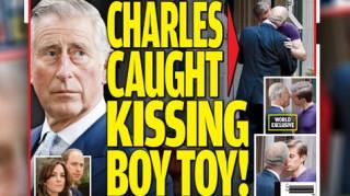 Σκανδαλοθηρική εφημερίδα αμφισβητεί τον Κάρολο