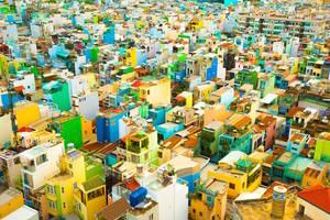 H Χο Τσι Μιν του Βιετνάμ, πνιγμένη στο χρώμα