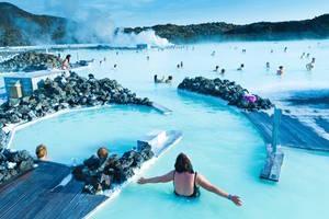 Στη Γαλάζια Λίμνη του Ρέικιαβικ της Ισλανδίας
