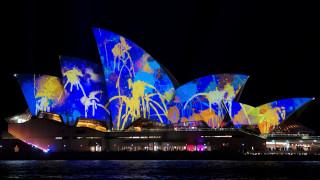 Φαντασμαγορία φωτός στο Σίδνεϊ