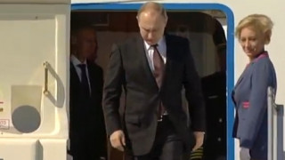 Επίσκεψη του Βλαντιμίρ Πούτιν στο Άγιο Όρος