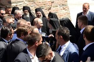 Η επίσκεψη του Πούτιν στο Άγιον Όρον