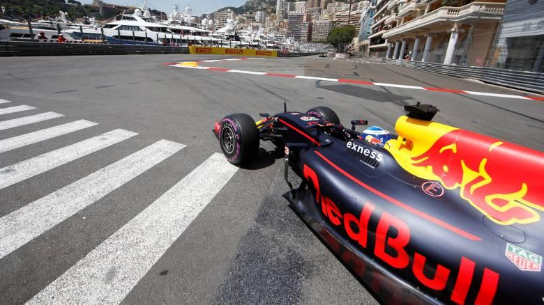Ο Ντάνι Ρικιάρντο με Red Bull θα ξεκινήσει πρώτος στο Grand Prix του Μονακό