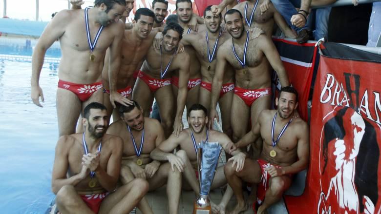 Ο Ολυμπιακός έκανε το νταμπλ στο πόλο ανδρών νικώντας την Βουλιαγμένη στον τελικό Κυπέλλου