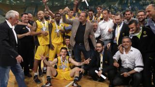 Η ΑΕΚ κέρδισε τον Άρη 89-81 και τερμάτισε στην 3η θέση της Α1 στο μπάσκετ