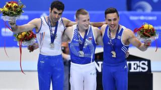 Το χρυσό μετάλλιο στους κρίκους κατέκτησε ο Λευτέρης Πετρούνιας στο Ευρωπαϊκό πρωτάθλημα