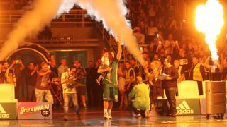 Η τελευταία παράσταση του Διαμαντίδη στο ΟΑΚΑ το κοινό του ΠΑΟ στον 4ο τελικό της Α1