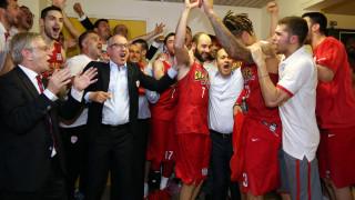 Στην 2η παράταση του τελικού ο Ολυμπιακός νίκησε τον ΠΑΟ και κατέκτησε το πρωτάθλημα στην Α1
