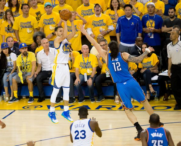 2016 05 31T025551Z 821261168 NOCID RTRMADP 3 NBA PLAYOFFS OKLAHOMA CITY THUNDER AT GOLDEN STATE WARRIORS