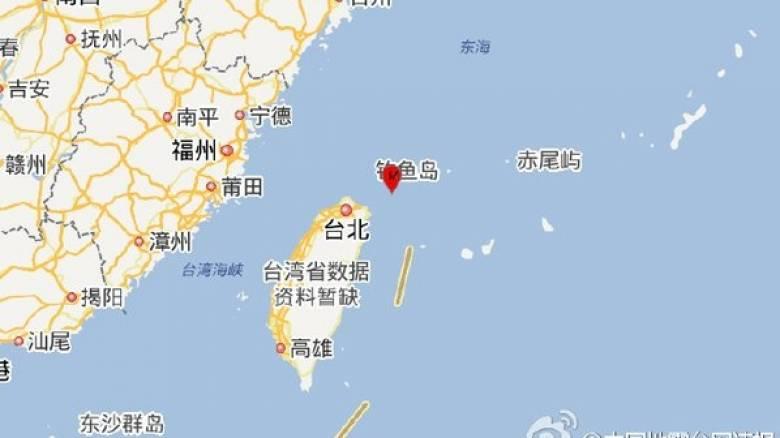 Σεισμός 6,1 Ρίχτερ στην Ταϊβάν