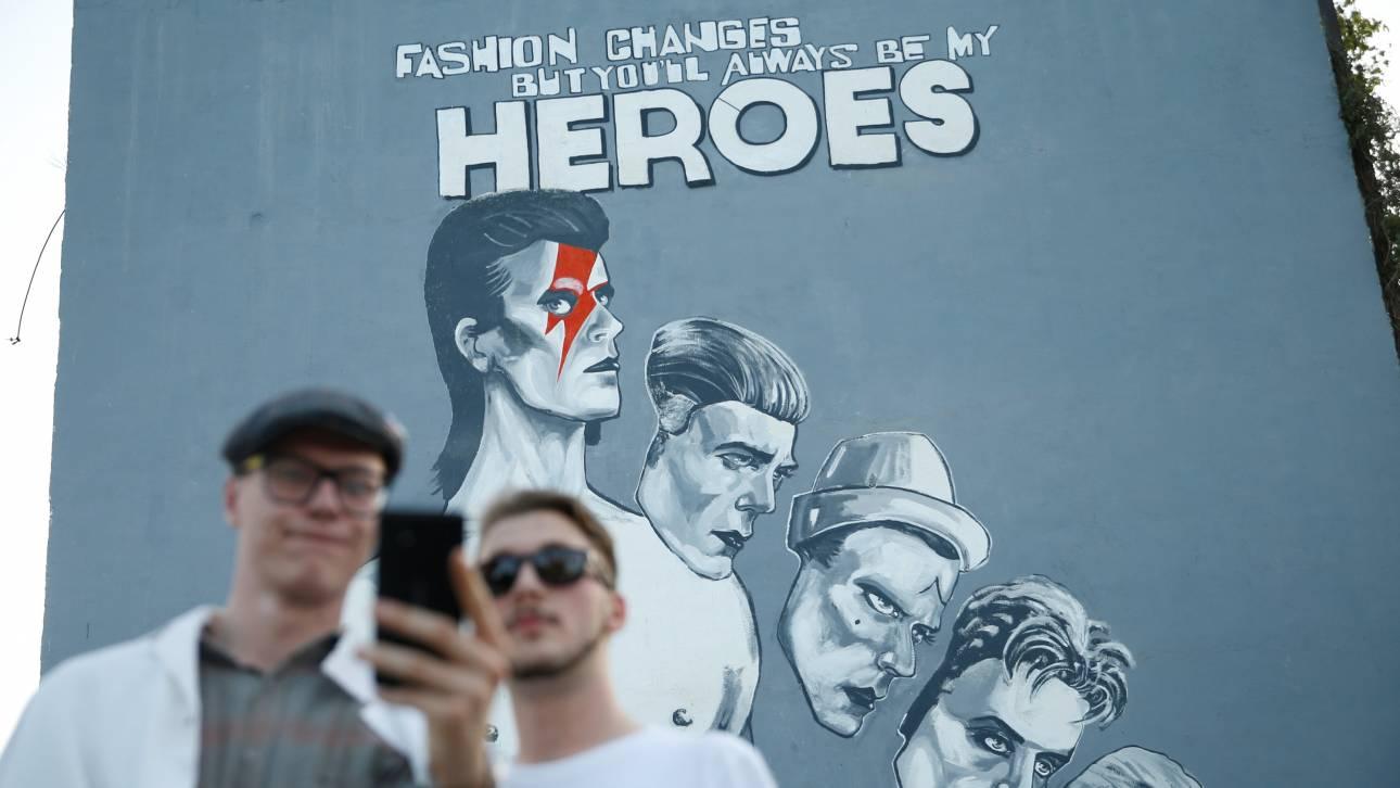 Ο David Bowie ένας ήρωας για το Σεράγεβο