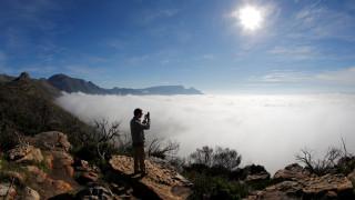 Το «επιτραπέζιο» βουνό με την επίπεδη κορυφή στο Κέιπ Τάουν