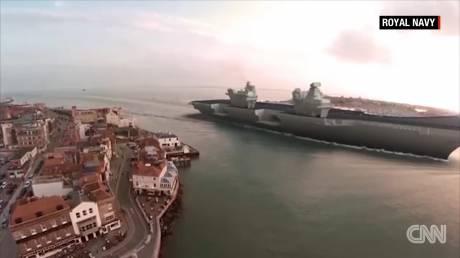 O νέος Βρετανός «γίγαντας» των θαλασσών