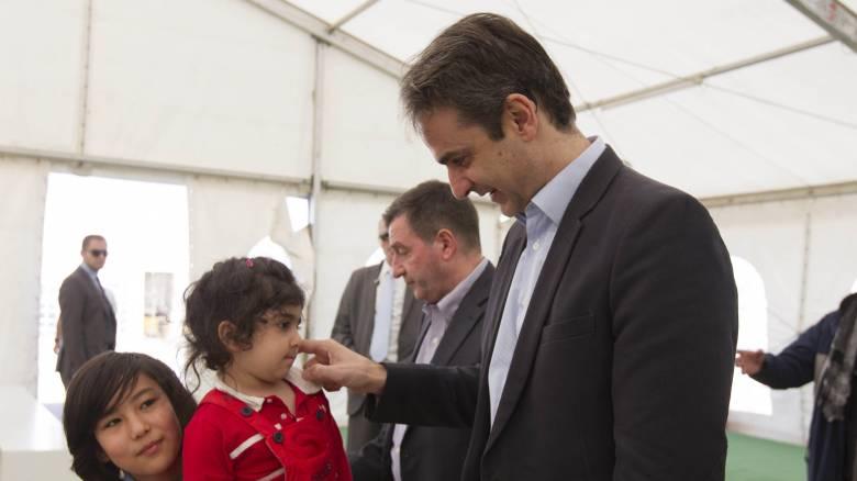 Τις προτάσεις της ΝΔ για το προσφυγικό παρουσιάζει ο Μητσοτάκης από τη Σάμο