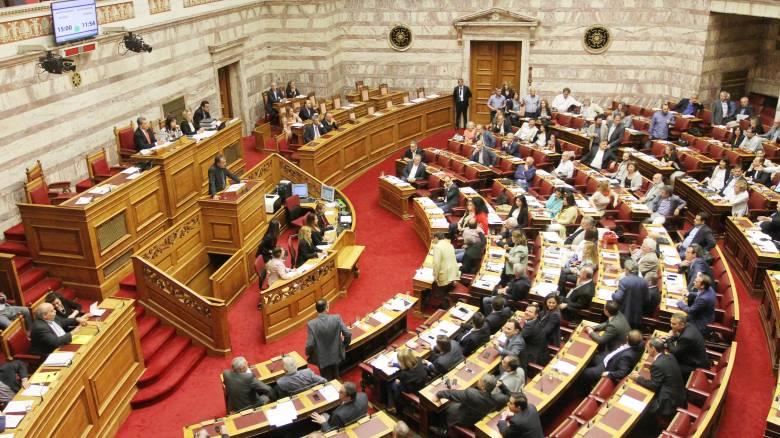 Δείτε live τη συζήτηση στη Βουλή