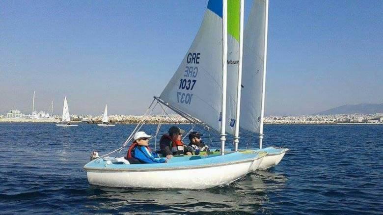 Για πρώτη φορά Έλληνες στο Παγκόσμιο Πρωτάθλημα ιστιοπλοΐας ΑμΕΑ