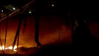 Επεισόδια στην Μόρια - Εκκενώθηκε το κέντρο κράτησης