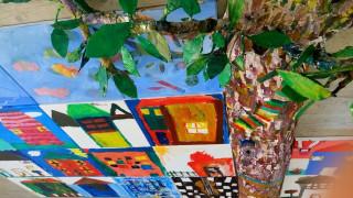 Τα παιδιά ζωγραφίζουν: Ένα σπίτι, μία πατρίδα, ο ίδιος ουρανός