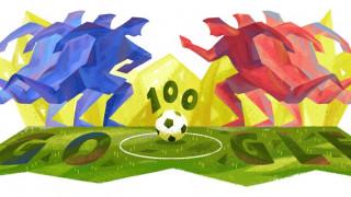 Google Doodle για τα εκατό χρόνια ζωής του μαγευτικού Copa América
