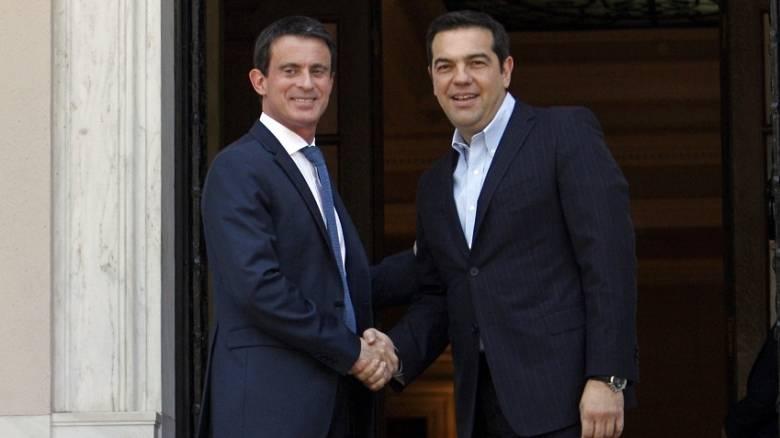 Μ. Βαλς: Η Γαλλία είναι αλληλέγγυα στην Ελλάδα