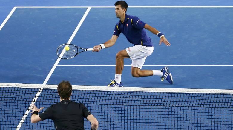 Οι δύο κορυφαιοι τεννίστες στον κόσμο Τζόκοβιτς και Μάρεϊ θα παίξουν στον τελικό του R.Garros