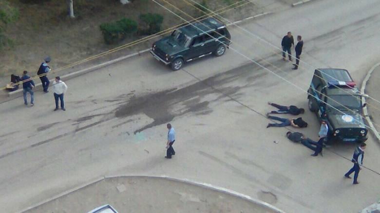 Κατάσταση ομηρίας και νεκροί στο Καζακστάν (pics+vid)
