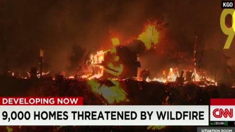 Μεγάλη πυρκαγιά στο Λος Άντζελες - Εκκενώνονται περιοχές