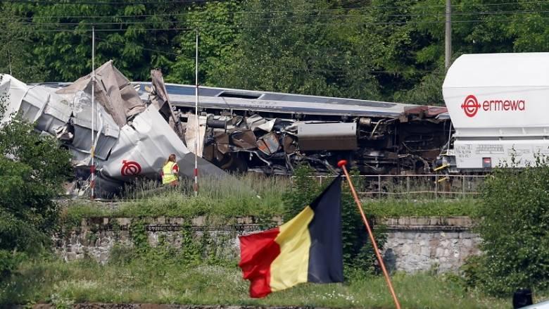 Βέλγιο: Τρεις νεκροί από σύγκρουση τραίνων