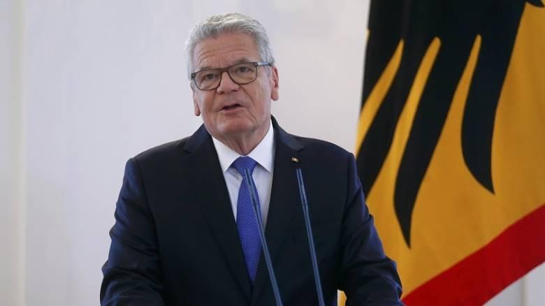 Ο πρόεδρος της Γερμανίας Γκάουκ δεν θα είναι υποψήφιος για δεύτερη  θητεία