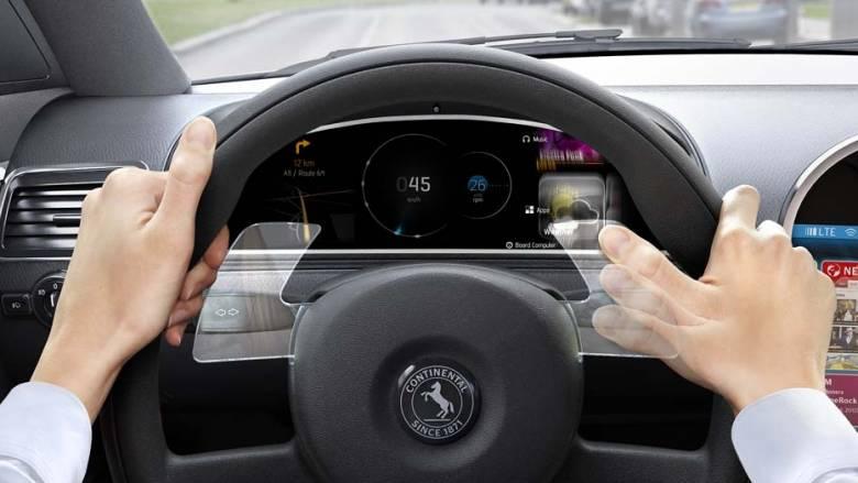 Η Continental παρουσίασε τιμόνι που αναγνωρίζει χειρονομίες